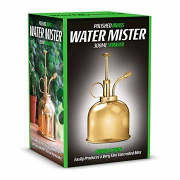CKB LTD Water Mister 300 ml Vintage Style Premium Classic Indoor Sprühflasche Dekorativer Pflanznebel mit Pumpe Bewässerung Kürbis für Luftpflanzen, Orchideen und mehr - 3