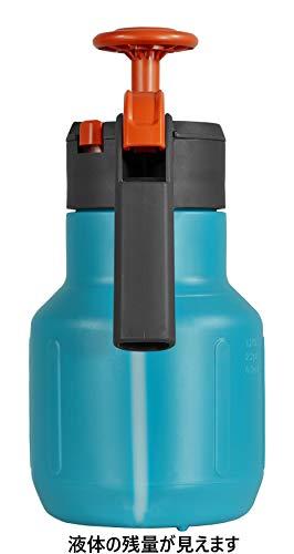 Gardena Comfort Drucksprüher 1,25 l: Drucksprühgerät mit Füllstandsanzeige, große Einfüllöffnung, Anschlagsdämpfung und Überdruckventil (814-20) - 2