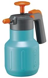 Gardena Comfort Drucksprüher 1,25 l: Drucksprühgerät mit Füllstandsanzeige, große Einfüllöffnung, Anschlagsdämpfung und Überdruckventil (814-20) - 1