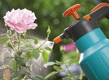 Gardena Comfort Drucksprüher 1,25 l: Drucksprühgerät mit Füllstandsanzeige, große Einfüllöffnung, Anschlagsdämpfung und Überdruckventil (814-20) - 4