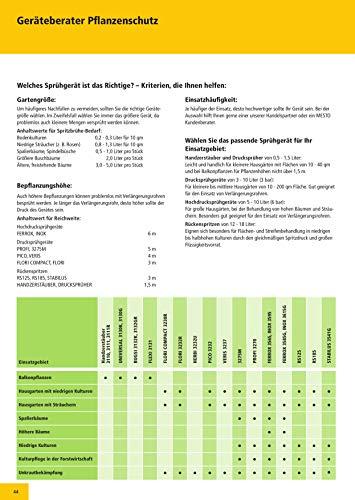 Mesto 3132GR BUGSI Drucksprüher, 1,5 Liter 360° schwenkbar - 4