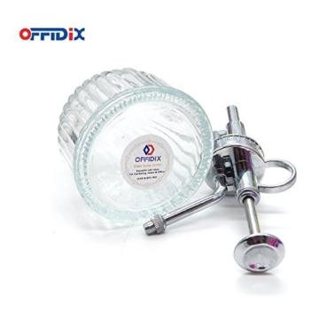 OFFIDIX Transparente Glas-Bewsserungs-Spray-Flasche, 6,5