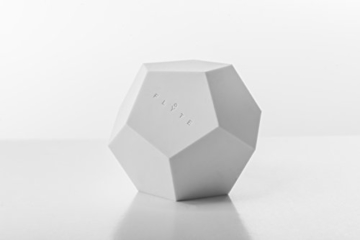 FLYTE Lyfe Dekoration, Glas, Weiß/eiche, 15.5 x 15.5 cm - 8